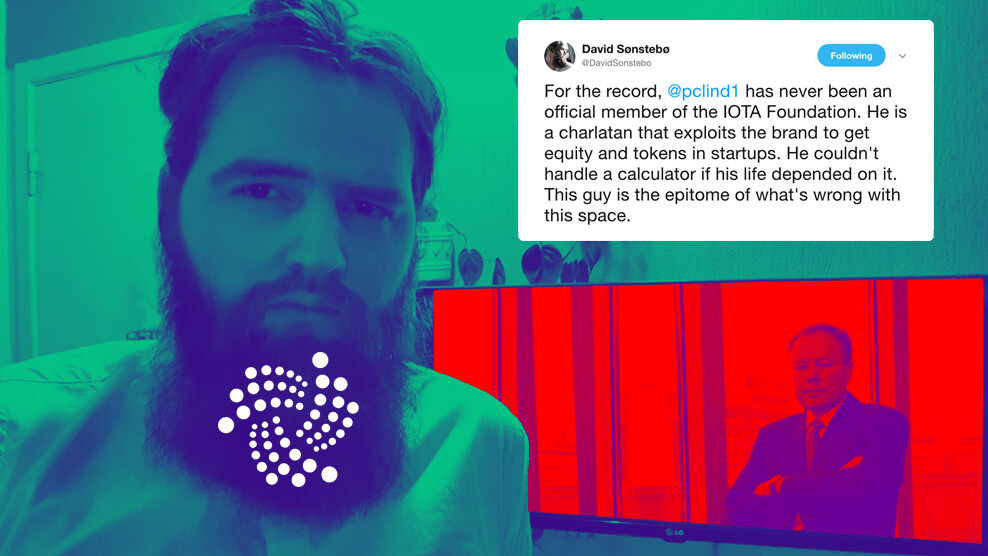 IOTA is going through a very messy public break-up with a former member