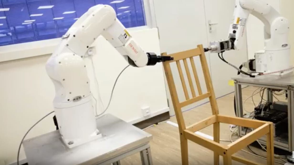 Robot does the unthinkable by assembling IKEA furniture in 20 minutes