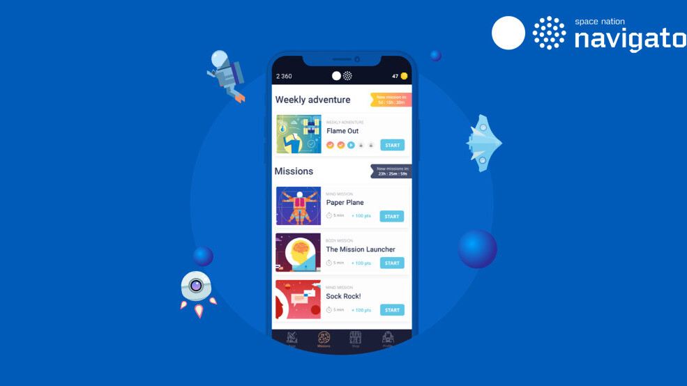 Train like an astronaut with this NASA-approved mobile app
