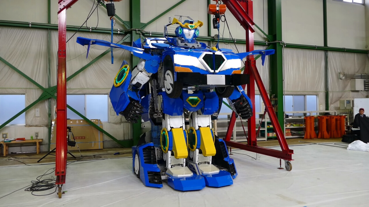 OMG someone made a robot that legit transforms into a car