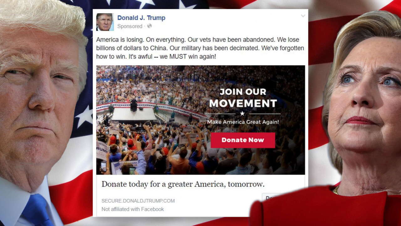 Facebook confirms: Donald trumped Hillary on the social network during 2016 election