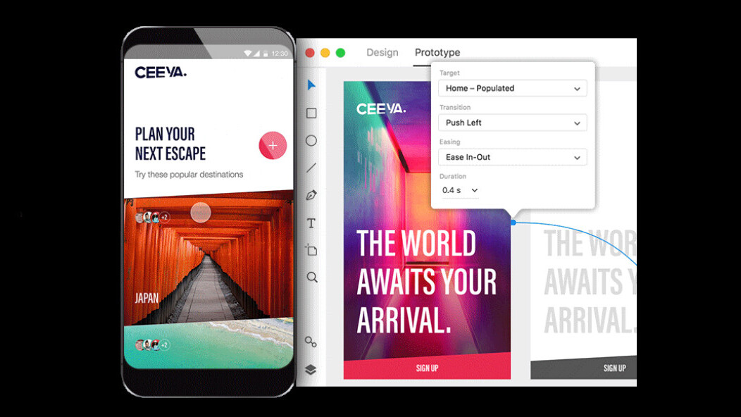 Adobe's XD app for interface design is now available for free