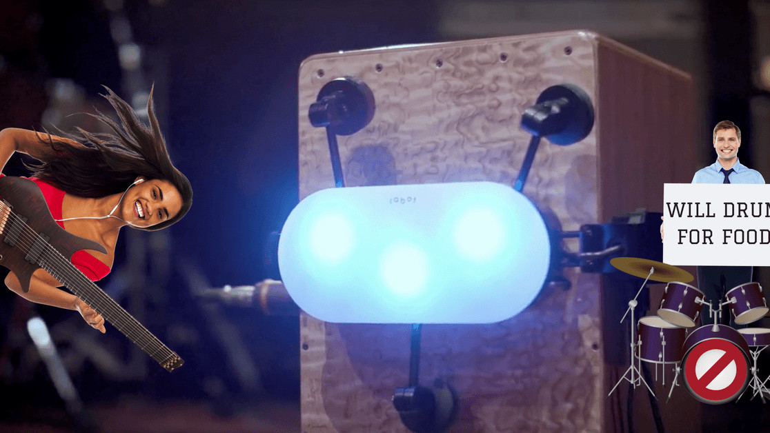 Thanks to this robot, musicians can now play with themselves in their bedroom