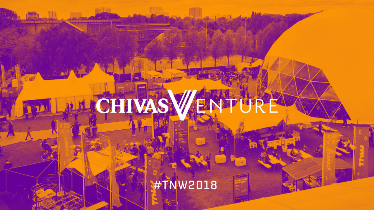Find the Chivas Hidden Studio at TNW2018 to hear exclusive interviews
