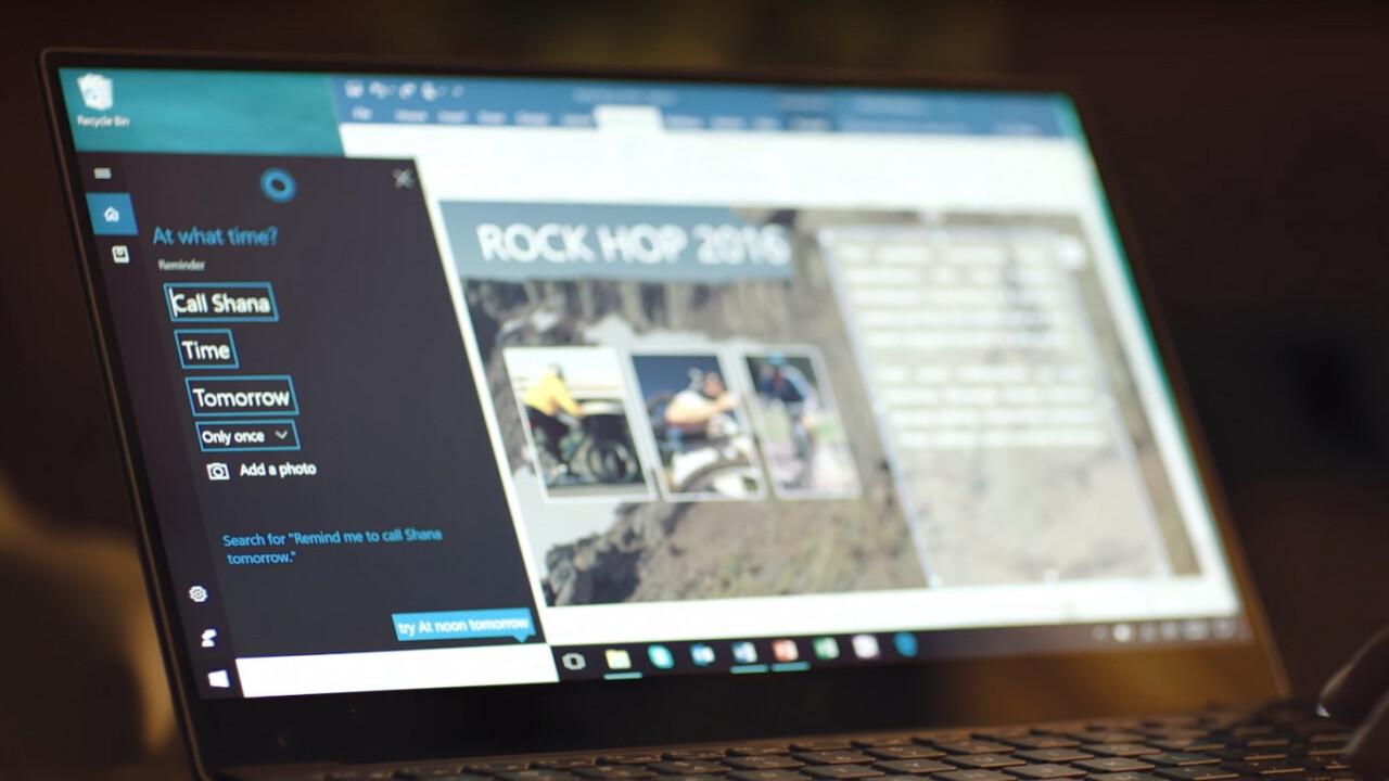 Microsoft just bought an AI startup to improve Cortana's conversational skills