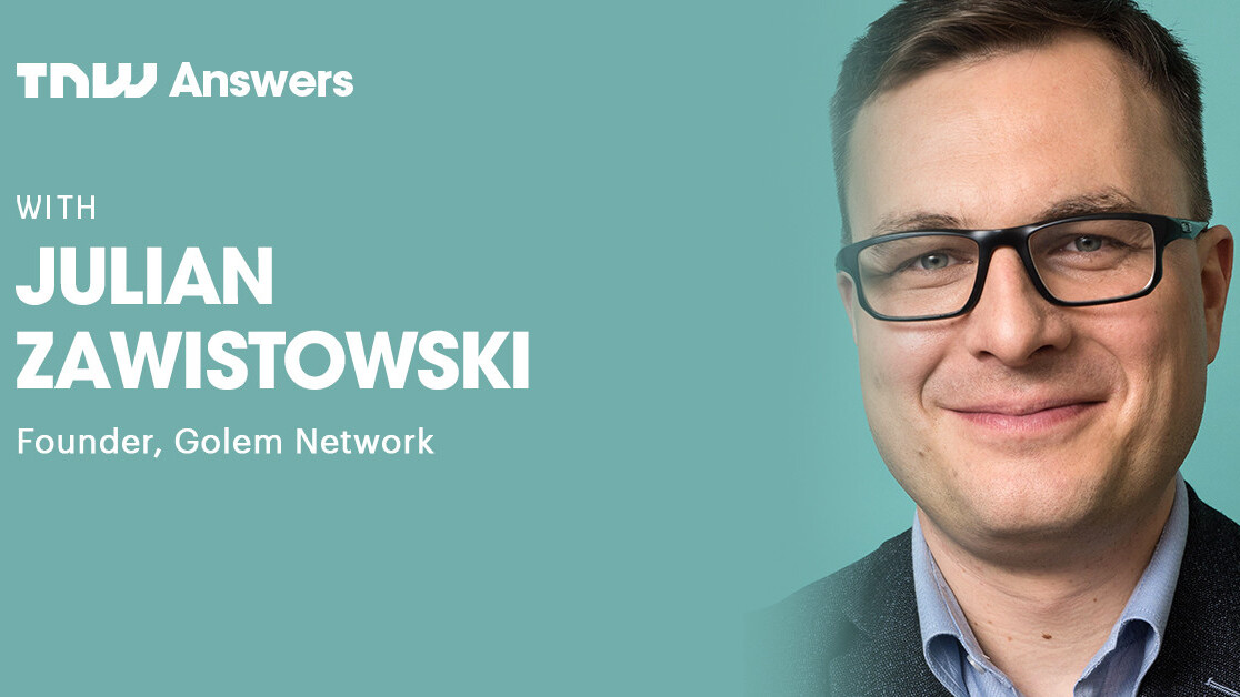 Golem creator Julian Zawistowski will answer all your questions about: 1) global decentralized supercomputers, 2) blockchain economy, and 3) more