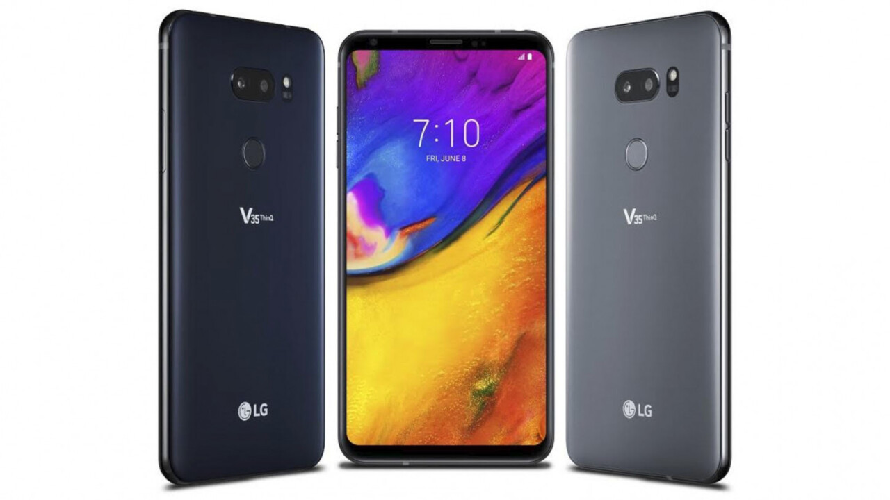 LG's V35 brings the best of the G7 to last year's V30