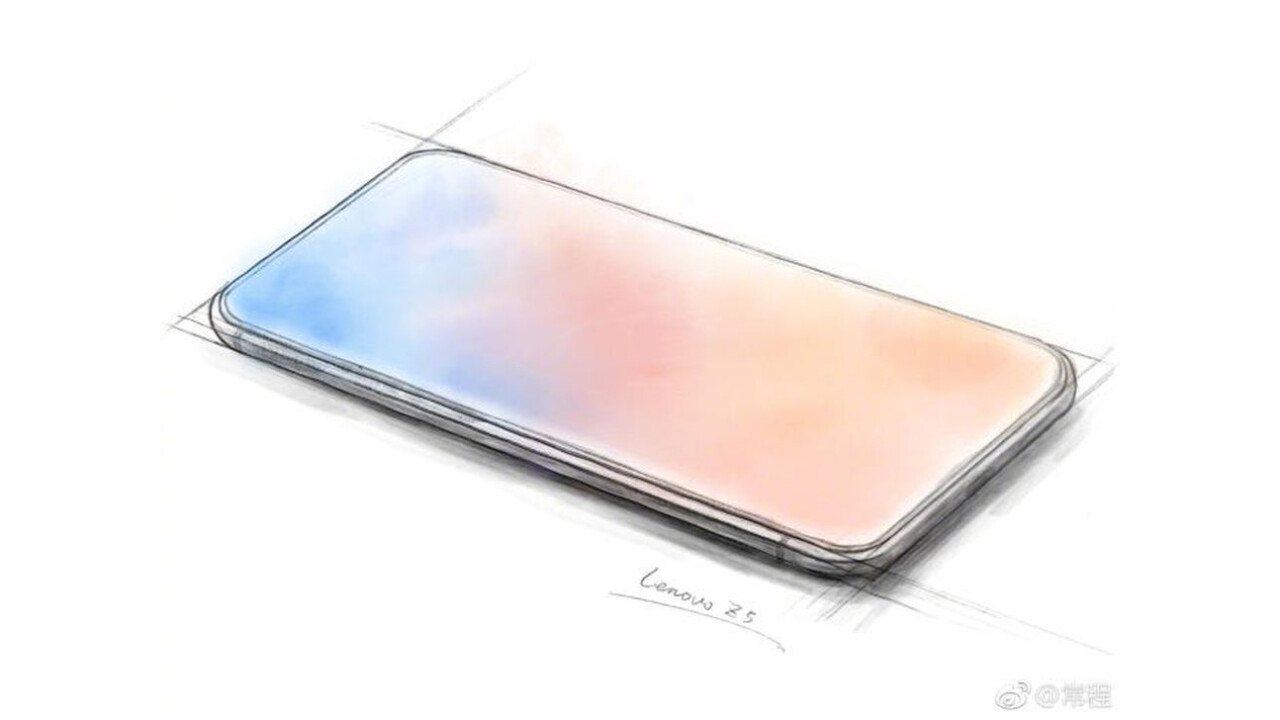 Lenovo is teasing a notchless all-screen phone