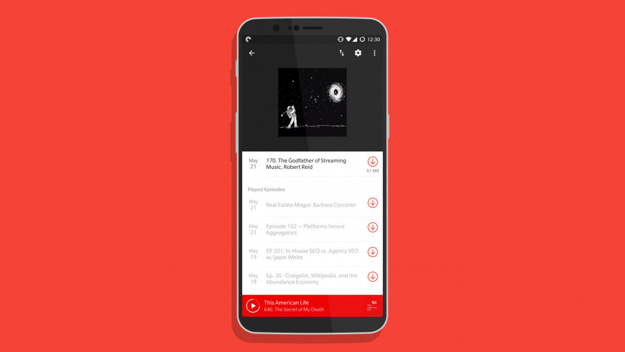 This website lets you curate podcast playlists for friends (or yourself)