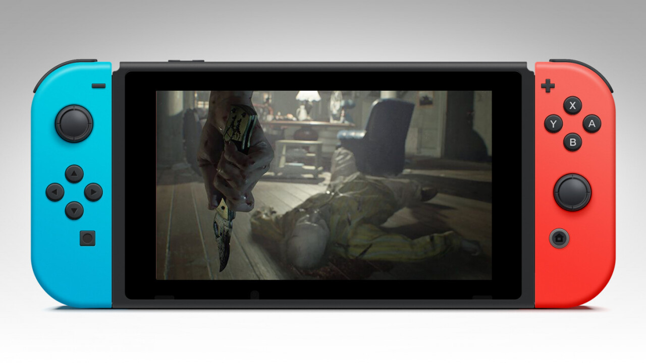 The Nintendo Switch is finally getting Resident Evil 7 – but you'll have to stream it