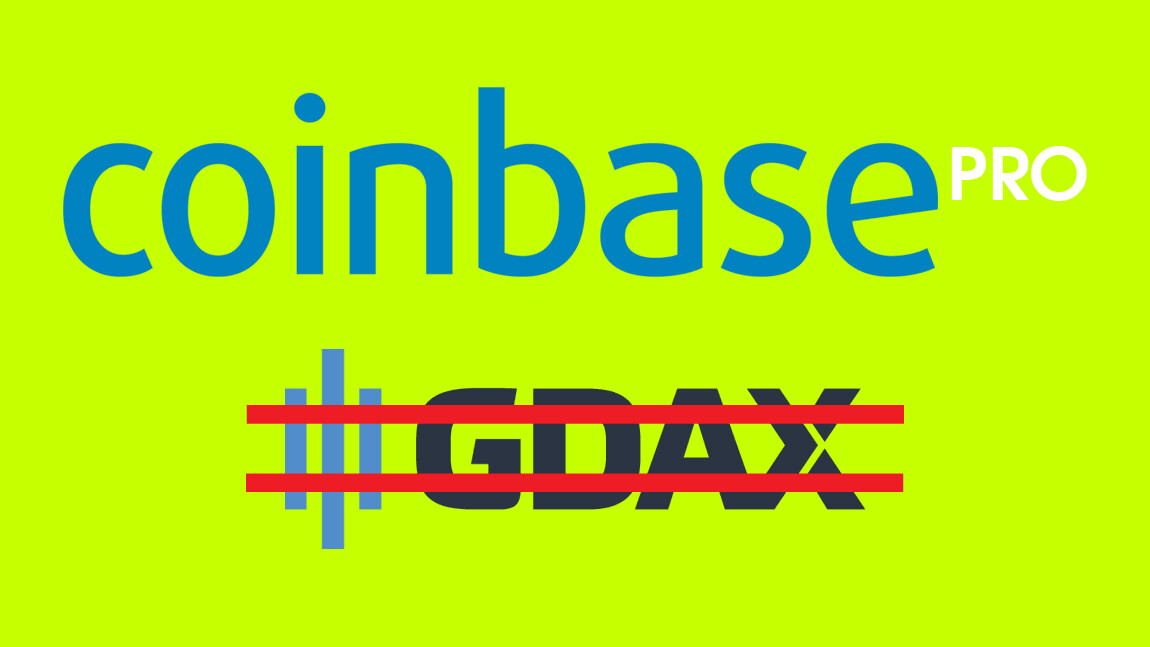 Coinbase is shutting down GDAX to launch new 'Pro' cryptocurrency exchange
