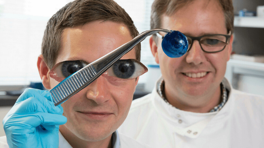 Researchers create the first 3D-printed corneas to combat blindness