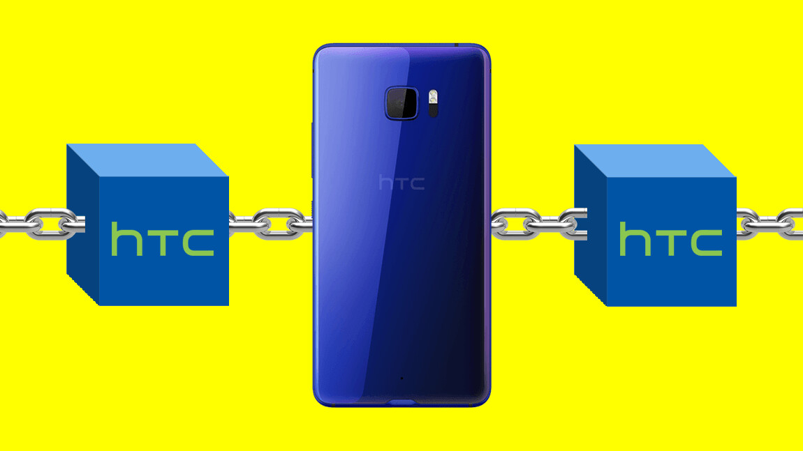 HTC is launching a blockchain-powered phone
