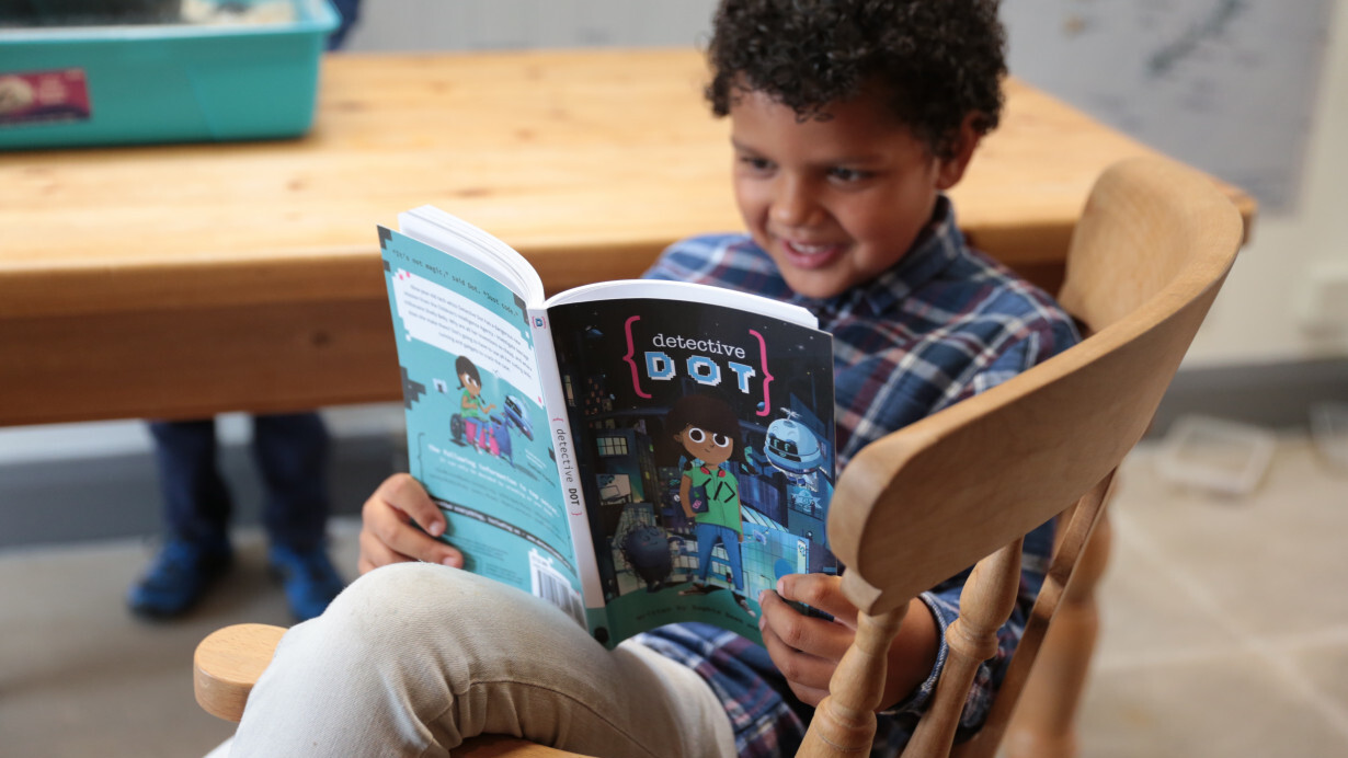 Detective Dot wants to teach STEM skills through the magic of storytelling