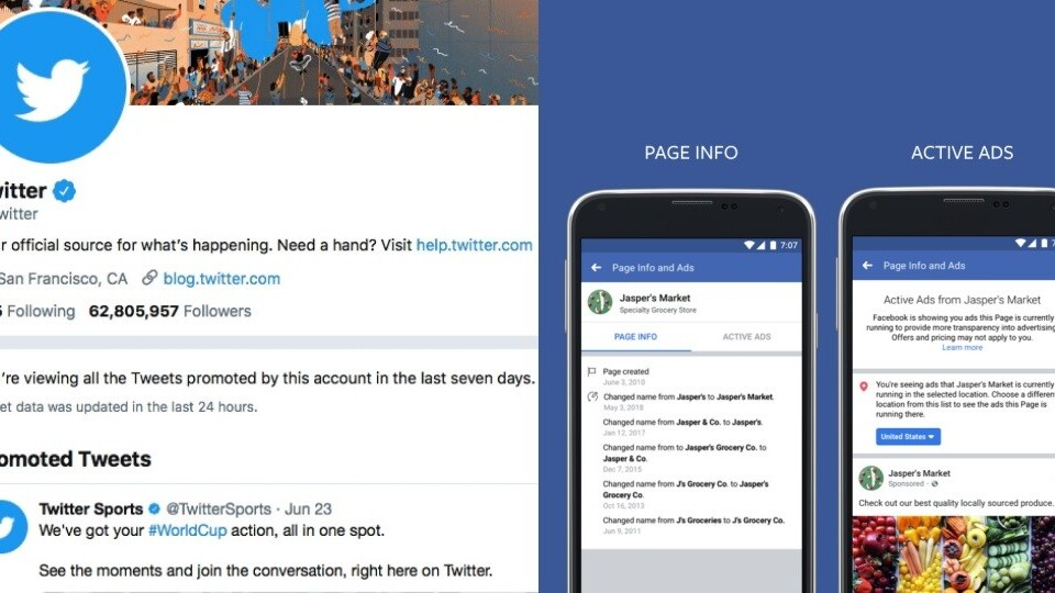 Facebook and Twitter's new focus on ad transparency is a welcome, flawed improvement