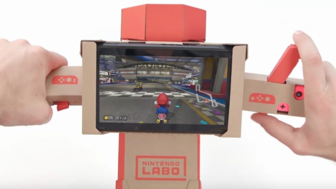 Nintendo Labo goes mainstream with Mario Kart support