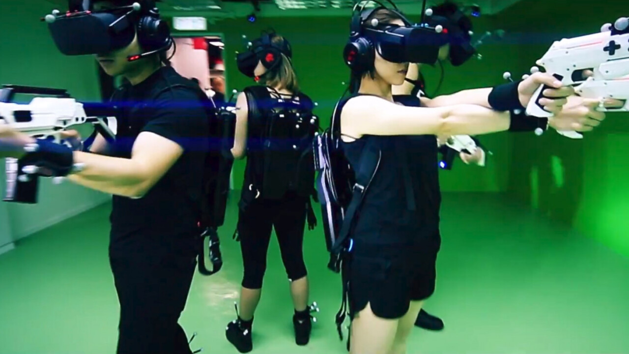 Sandbox VR lets you kill zombies with friends for your next party