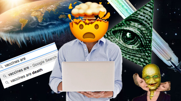 You're wrong about how the internet fuels conspiracy theories