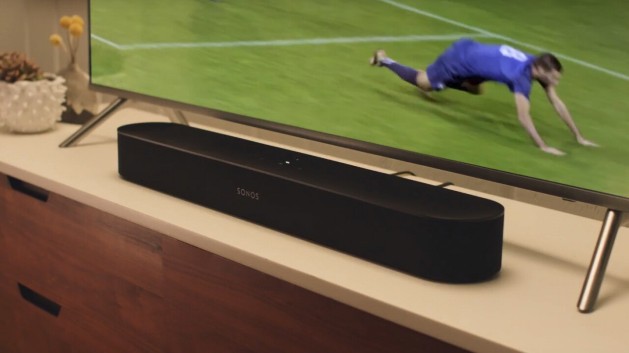 The Sonos Beam is a $399 soundbar with Alexa (and Google, someday)