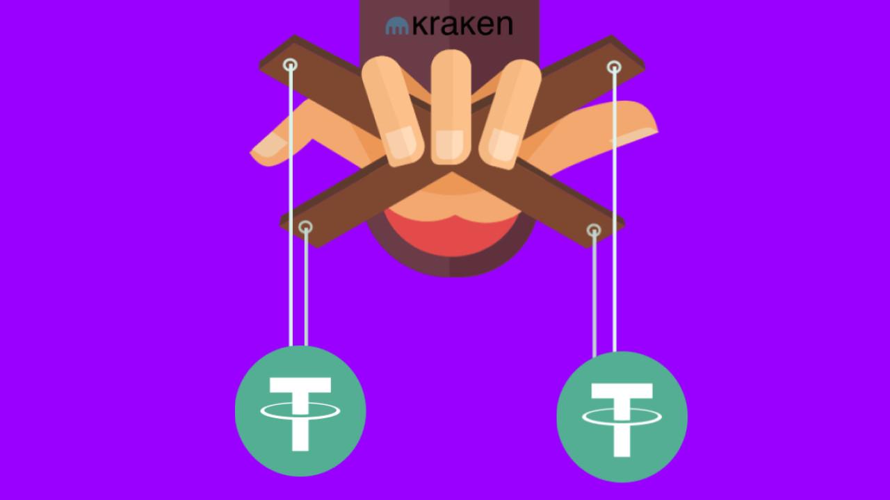 Report suggests Tether market manipulation on Kraken cryptocurrency exchange