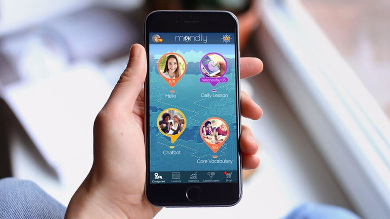 This top App Store and Google Play Store app makes it easy to learn a new language