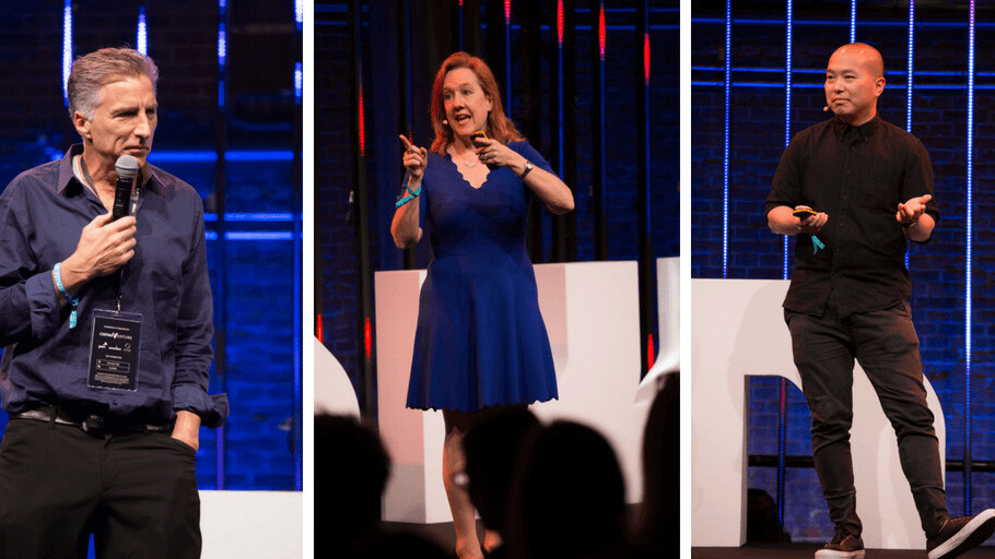 Tech CEOs share their secrets at TNW2018: China, design thinking, and more
