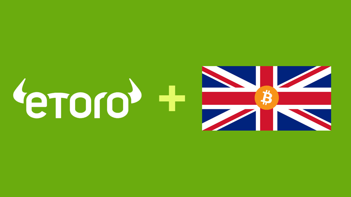 eToro now lets users hold shares, ETFs, and cryptocurrencies in one portfolio