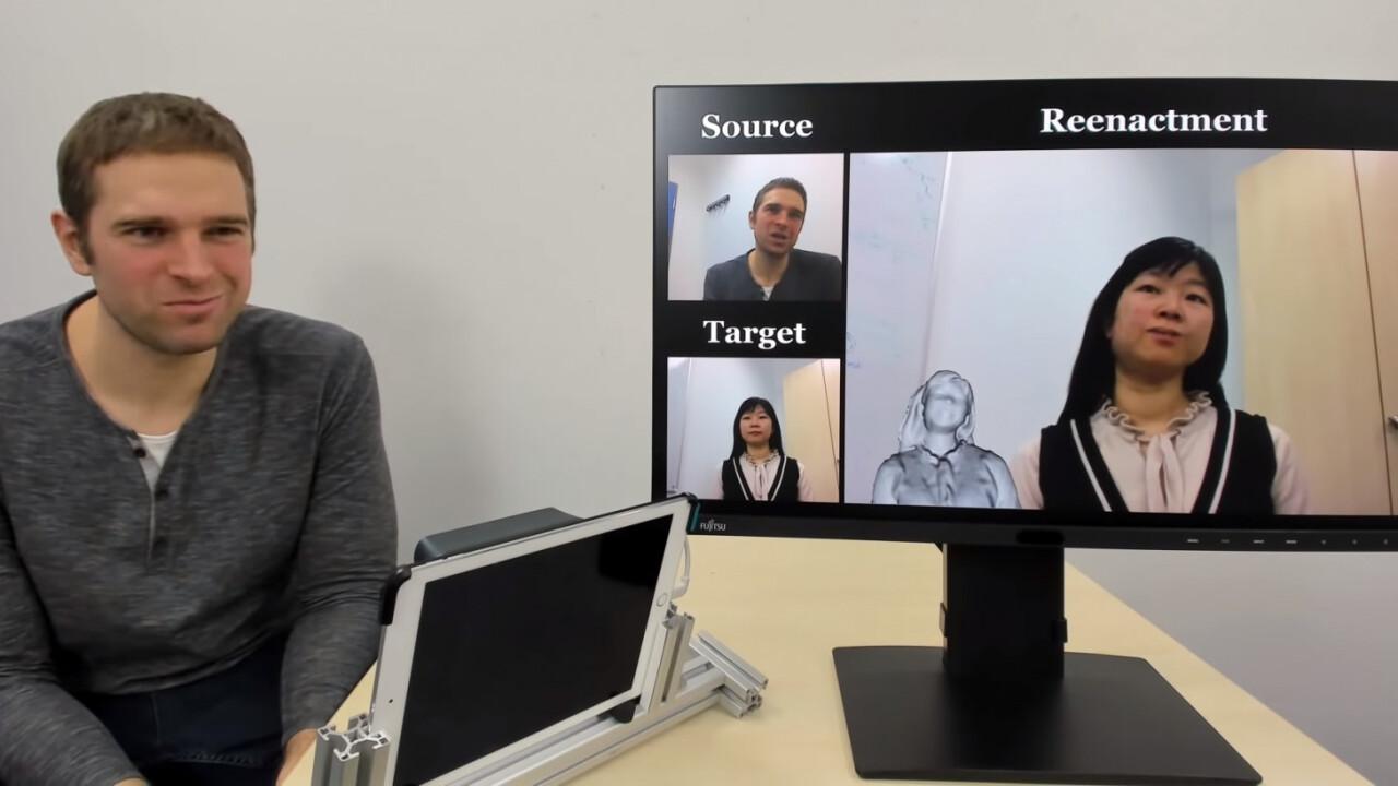 This AI lets you move a portrait like Animoji