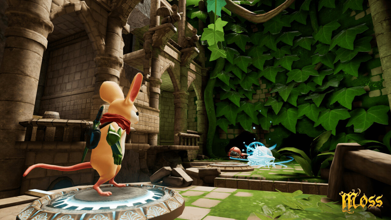 Polyarc Games' VR masterpiece Moss finally launches for Vive and Rift