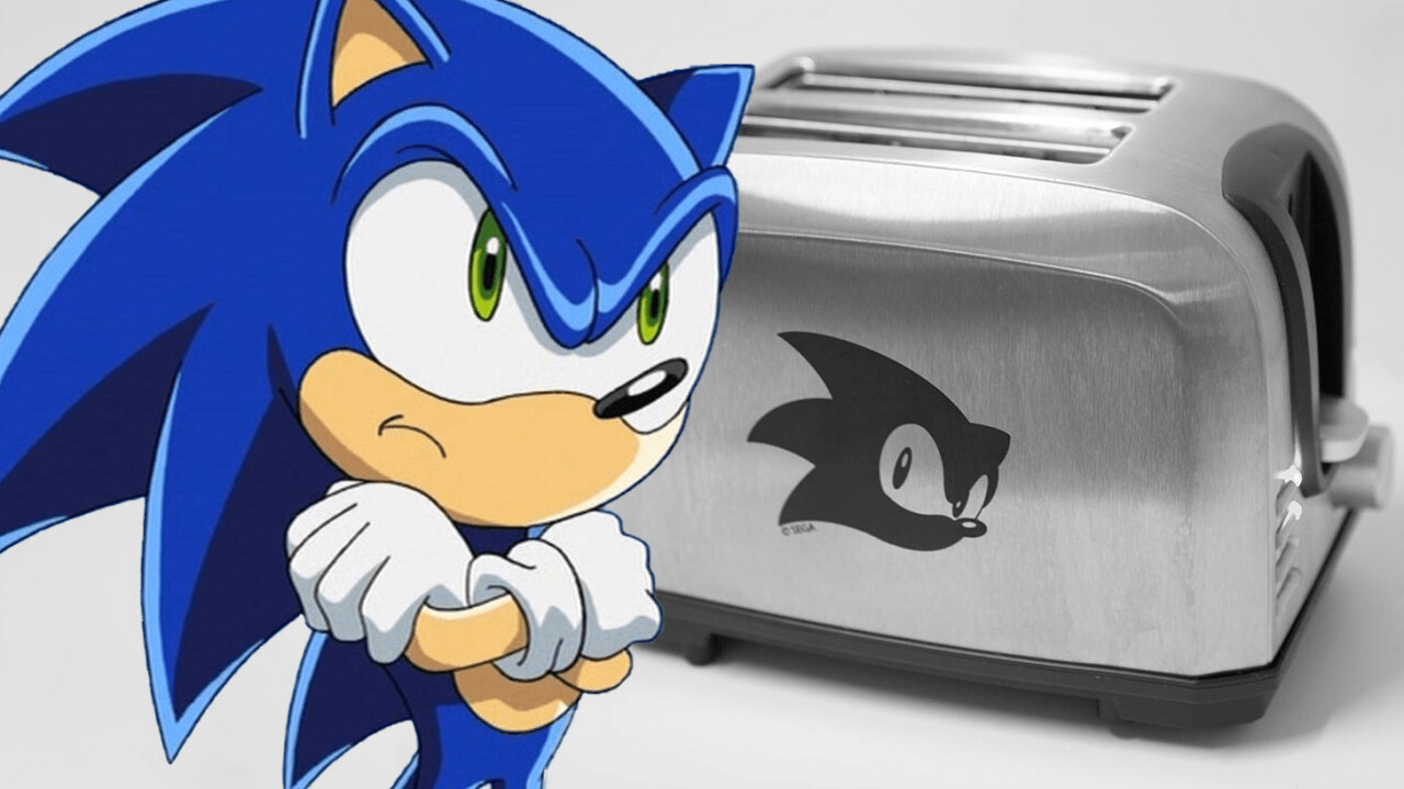 Sega wants to crowdfund a Sonic the Hedgehog toaster