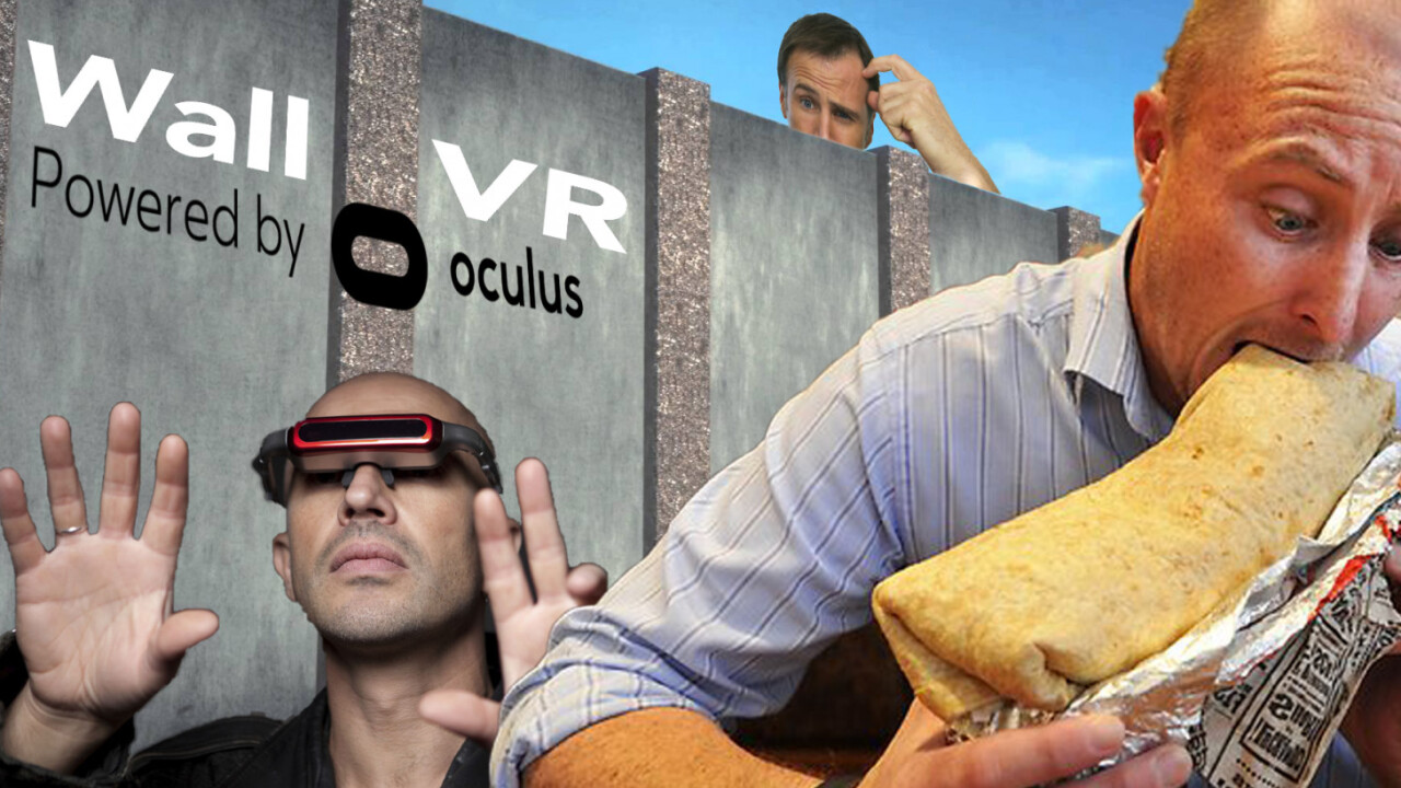 Oculus founder Palmer Luckey wants to build a virtual border wall