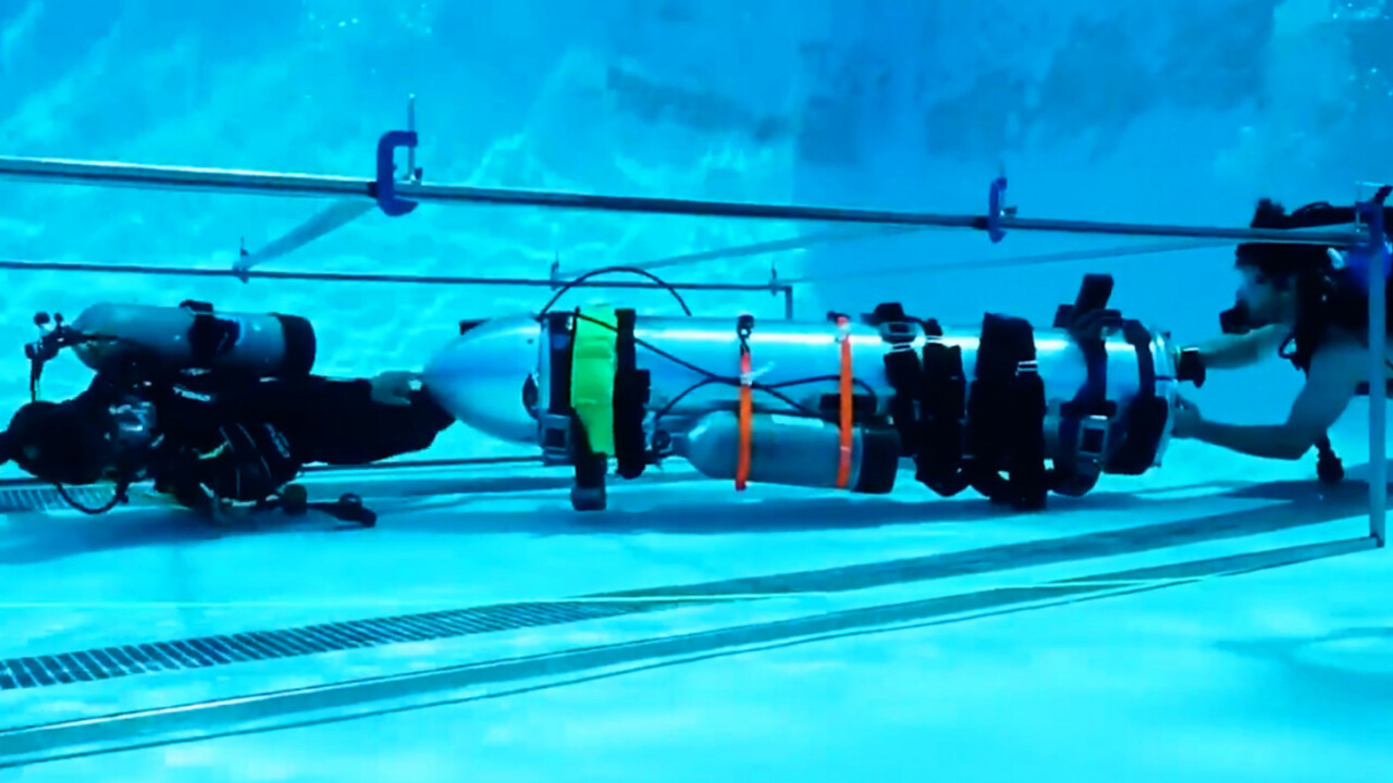 """Watch Elon Musk's rescue """"submarine"""" for the Thai soccer boys' team in testing"""