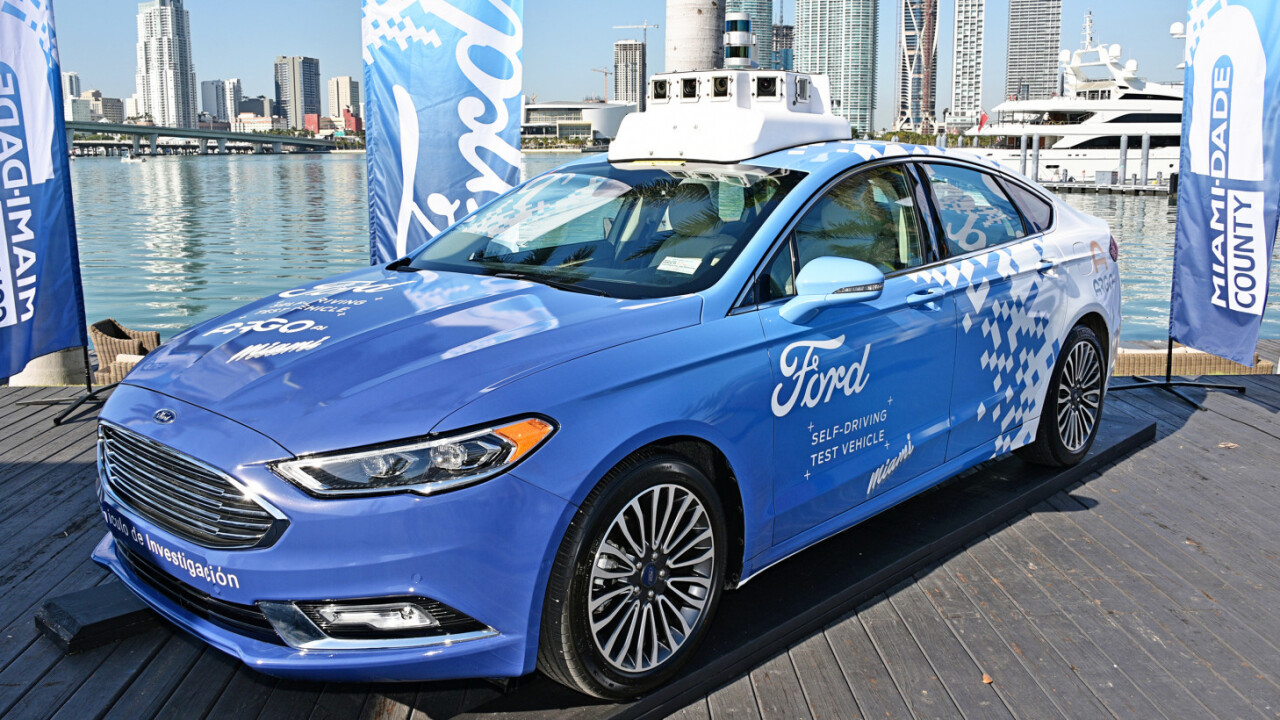 Ford bets $4 billion on its self-driving future