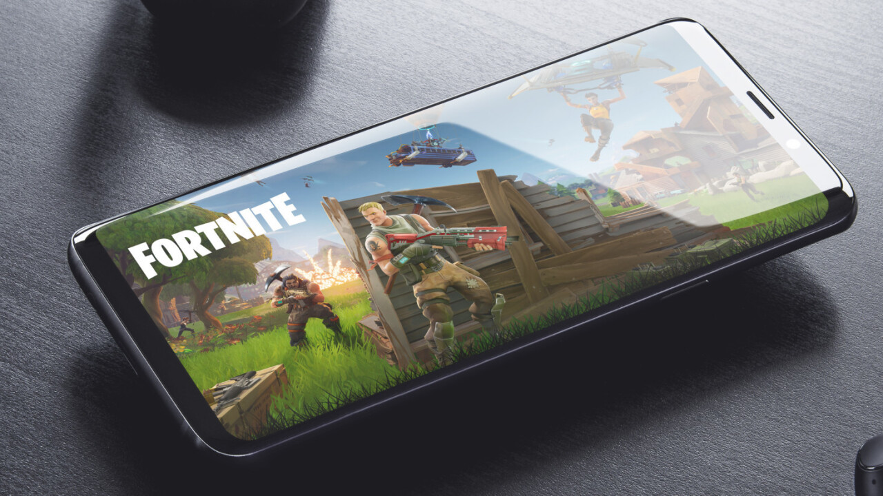 Fortnite's Android edition will reportedly be exclusive to Samsung's Galaxy Note 9 at launch