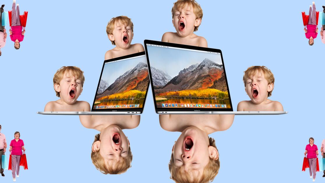 Apple unveils underwhelming MacBook Pro update