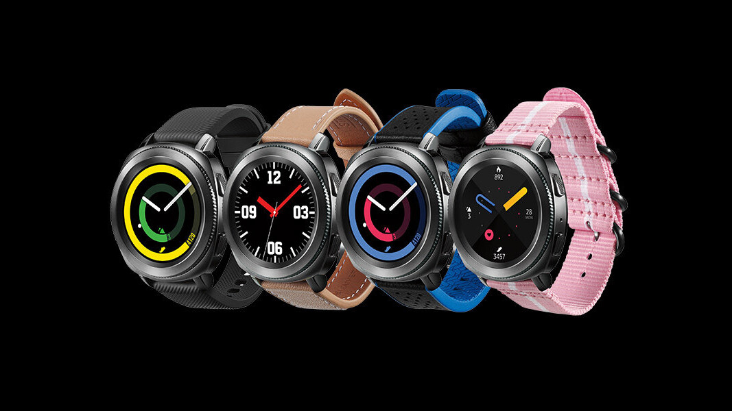 Samsung outs its upcoming Galaxy Watch by accident