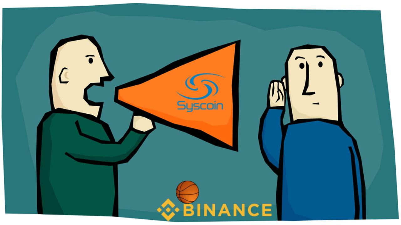 Syscoin: Suspicious blockchain activity unrelated to Binance trading anomaly
