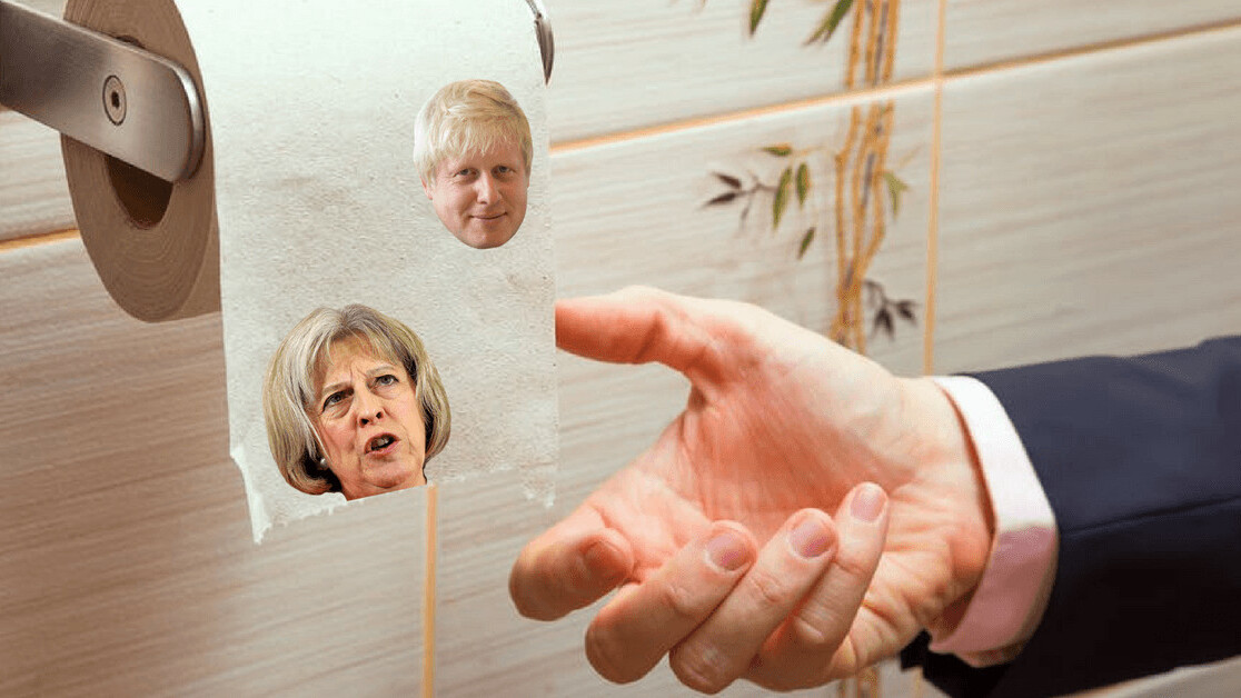 I got a hoax academic paper about how UK politicians wipe their bums published