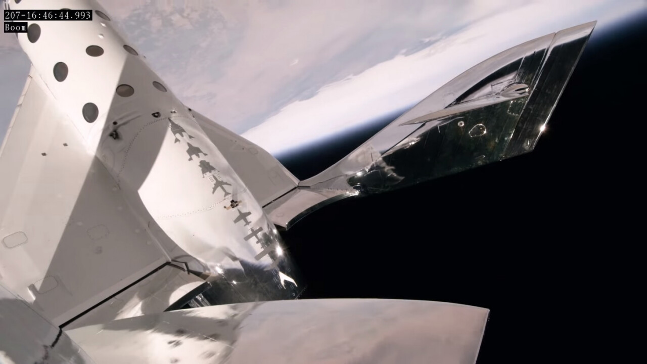 Watch Virgin Galactic's space plane soar 32 miles above the Earth