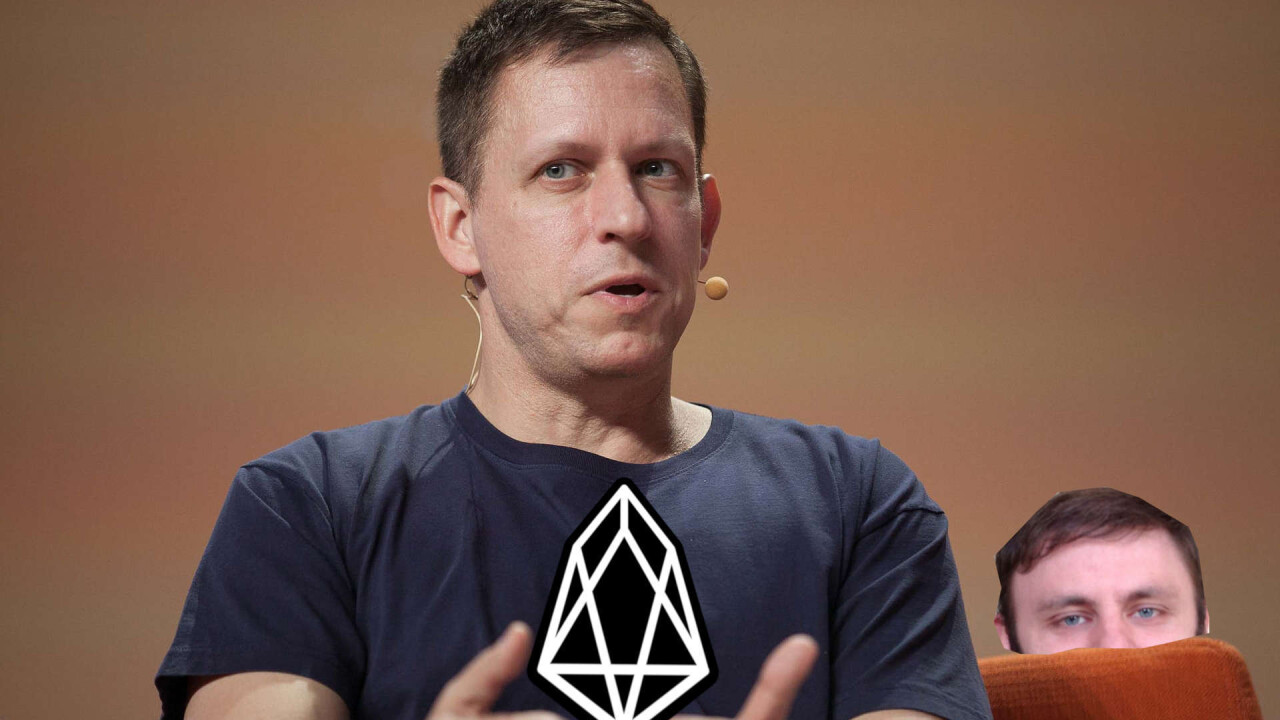 EOS rumored for new wave of investments from Bitmain and billionaire Peter Thiel