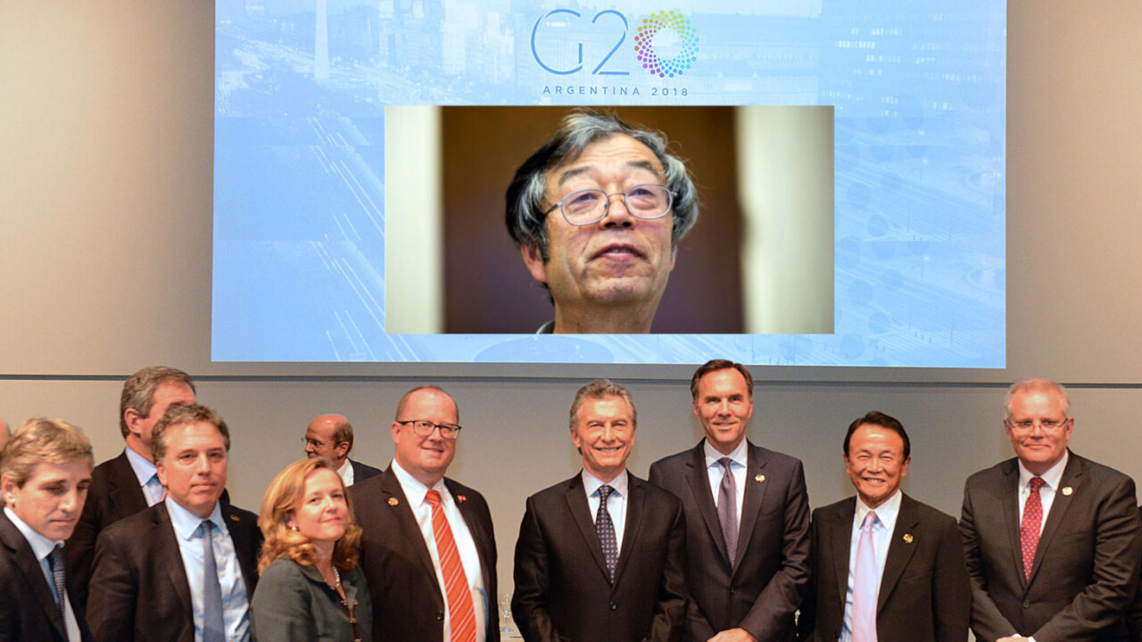 G20: Cryptocurrencies are okay, blockchains are great, and money laundering is still a problem