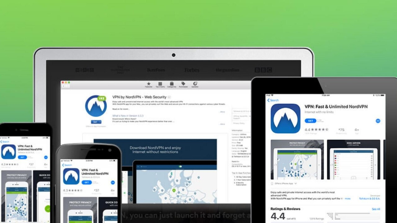 Protect yourself online with two years of NordVPN coverage at 80% off
