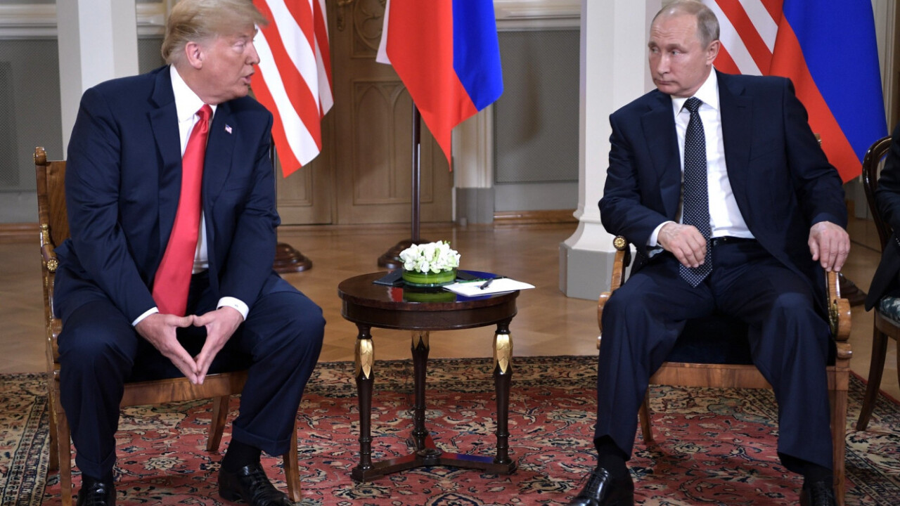 Journalists attending the Trump-Putin summit had terrible digital OPSEC