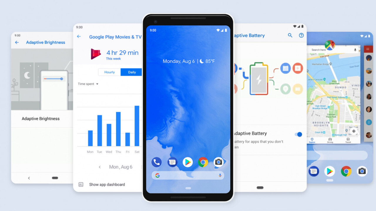 Google officially names Android 9 'Pie', rolling out to Pixels today and other devices this fall