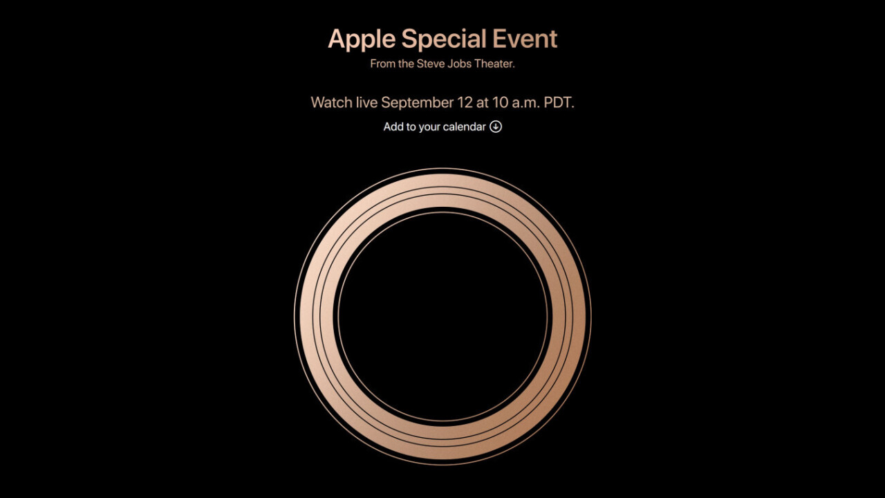 Apple will reveal its new iPhones on September 12