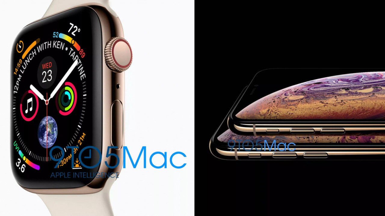 Leak: Here's our first look at the iPhone XS and Apple Watch Series 4