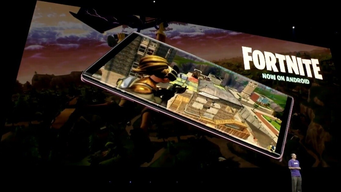 Samsung Galaxy owners can download the Android Fortnite beta right now