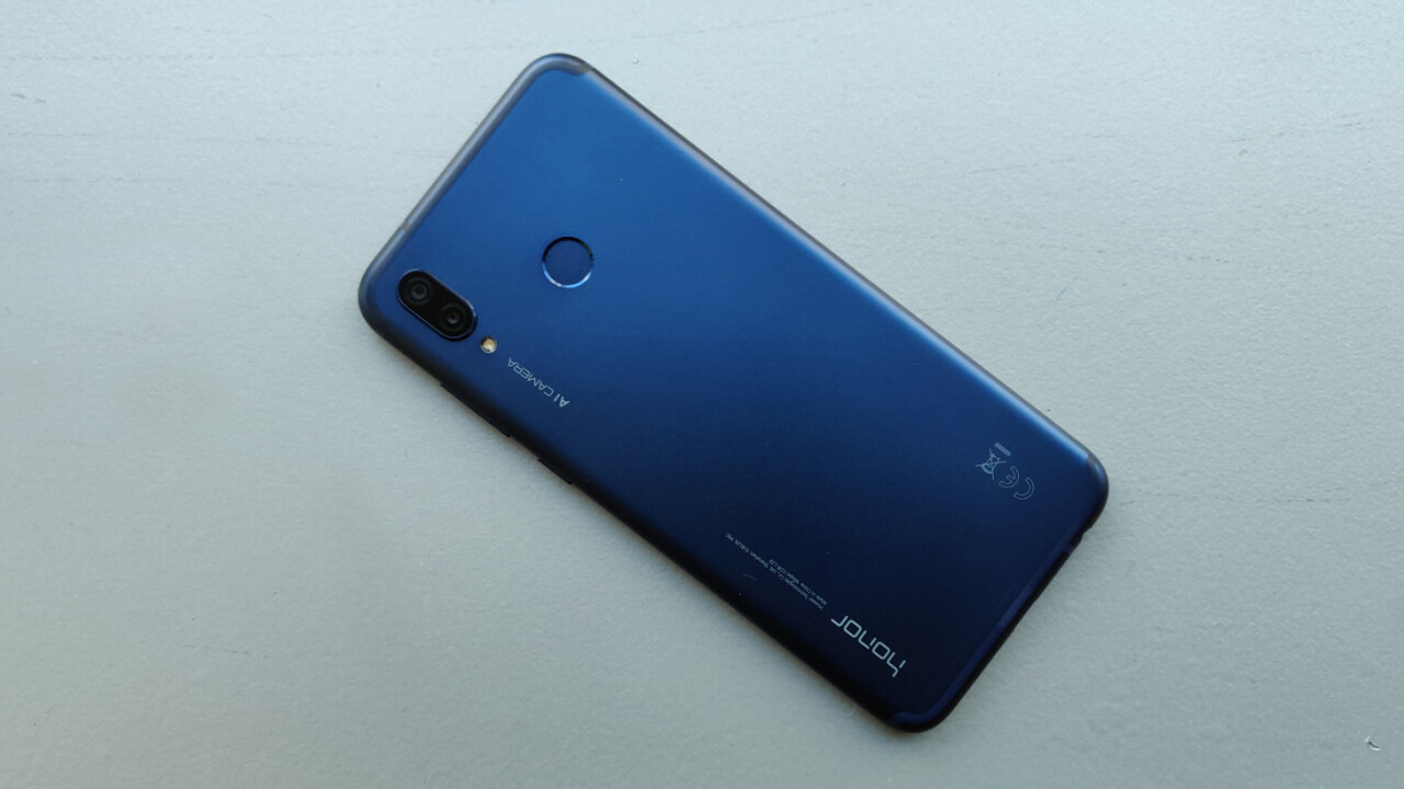 Honor Play hands-on: Solid hardware for a budget 'gaming' phone