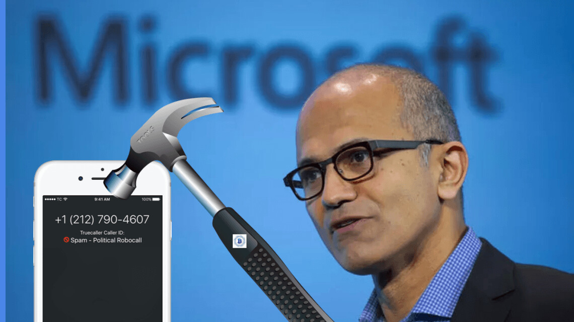 Microsoft is using blockchain to curb spam calls in India
