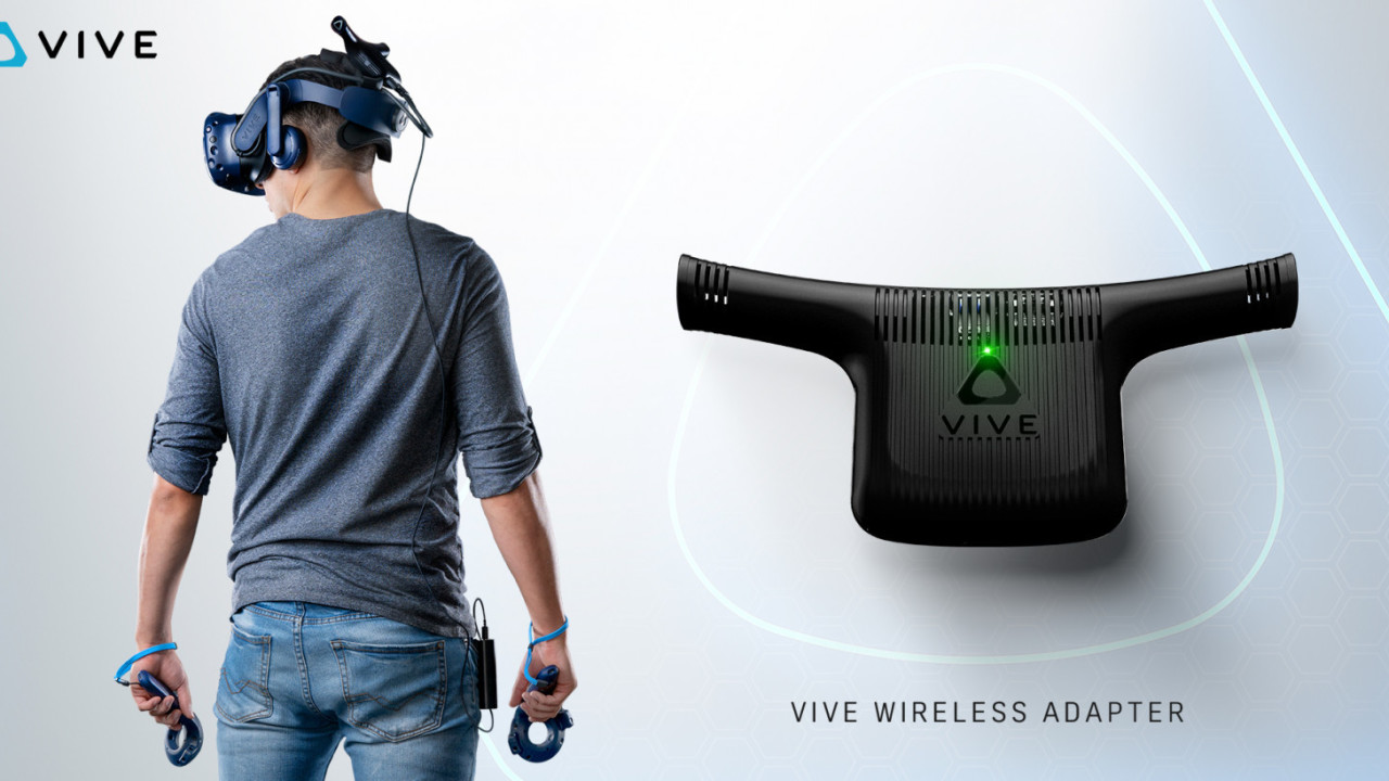 HTC reveals pricing and specs on the Vive wireless headset adapter